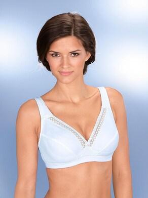 BH ohne Bügel - weiß