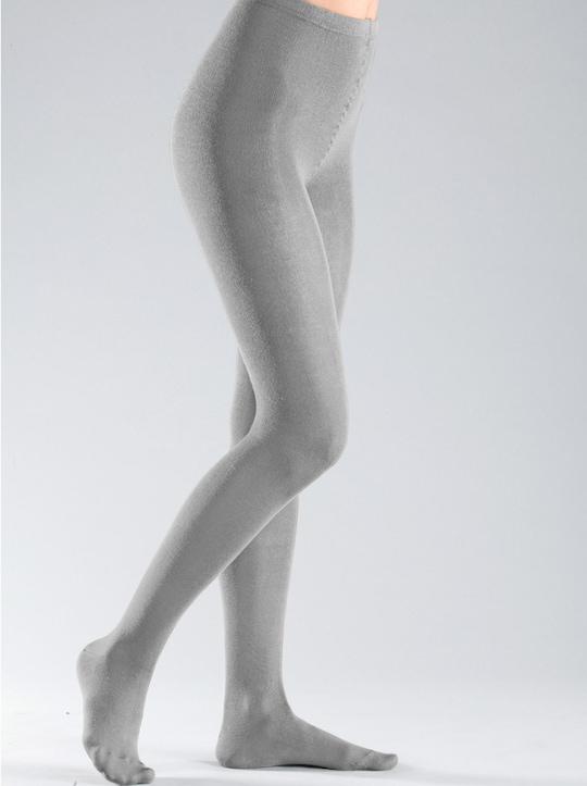 Rogo Thermo-Strumpfhose - grau-meliert