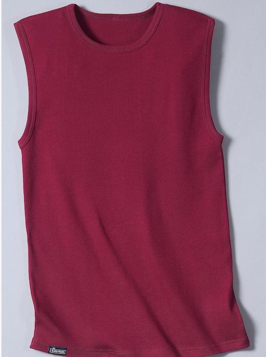 KINGsCLUB Shirt - bordeaux + marine + grijs