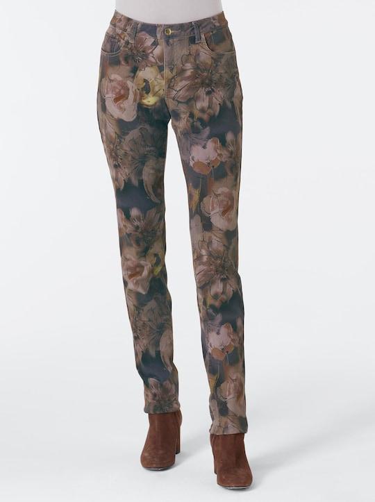 CREATION L PREMIUM Lyocell-Baumwoll-Jeans - bunt