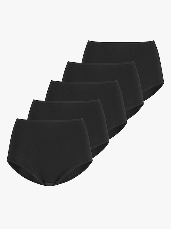 wäschepur Hipster - schwarz