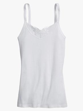 Schöller Tielko s ramienkami - biela