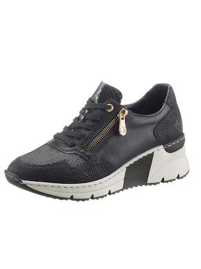 Rieker Sneaker - schwarz-goldfarben