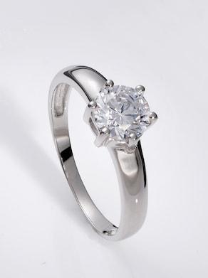 Ring - Weißgold 750