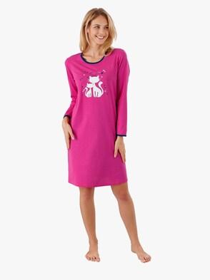 Nočná košeľa - ružová
