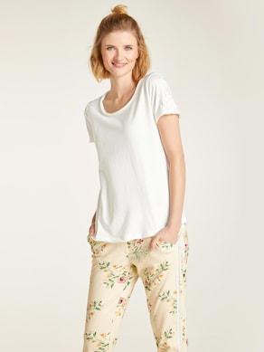 Linea Tesini Shirts met ronde hals - offwhite