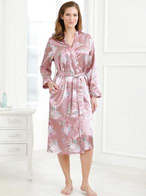 wäschepur Morgenmantel - rosenholz