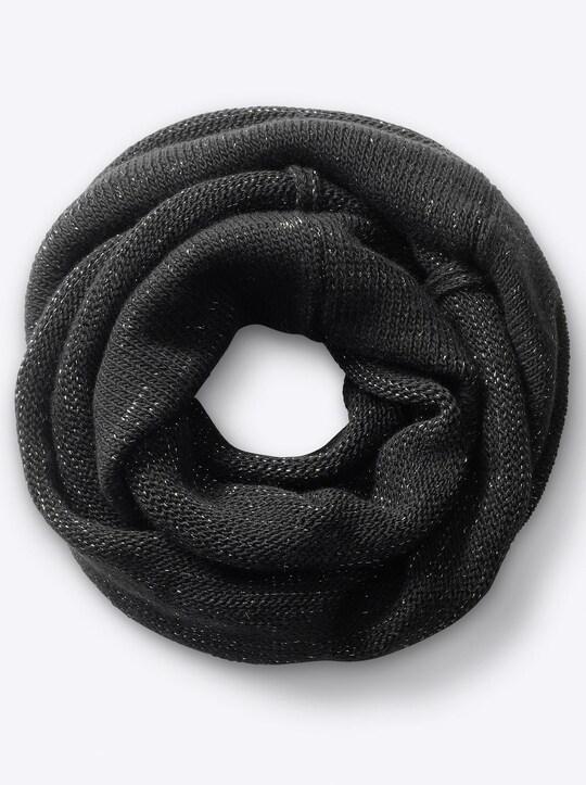 heine Schal - schwarz