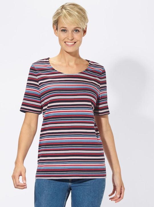Collection L Shirt - marine-gestreift