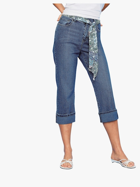 7/8-jeans - dark-blue