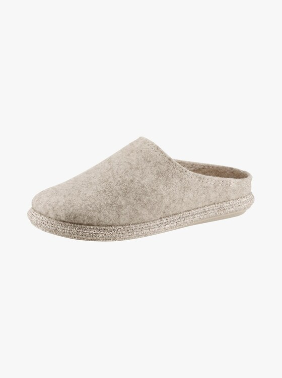 Thies Pantoffel - beige