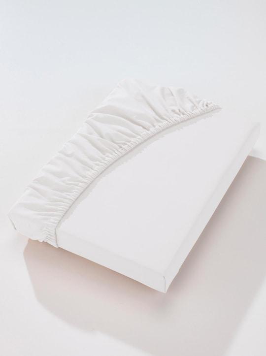 Biberna Betttuch - weiß