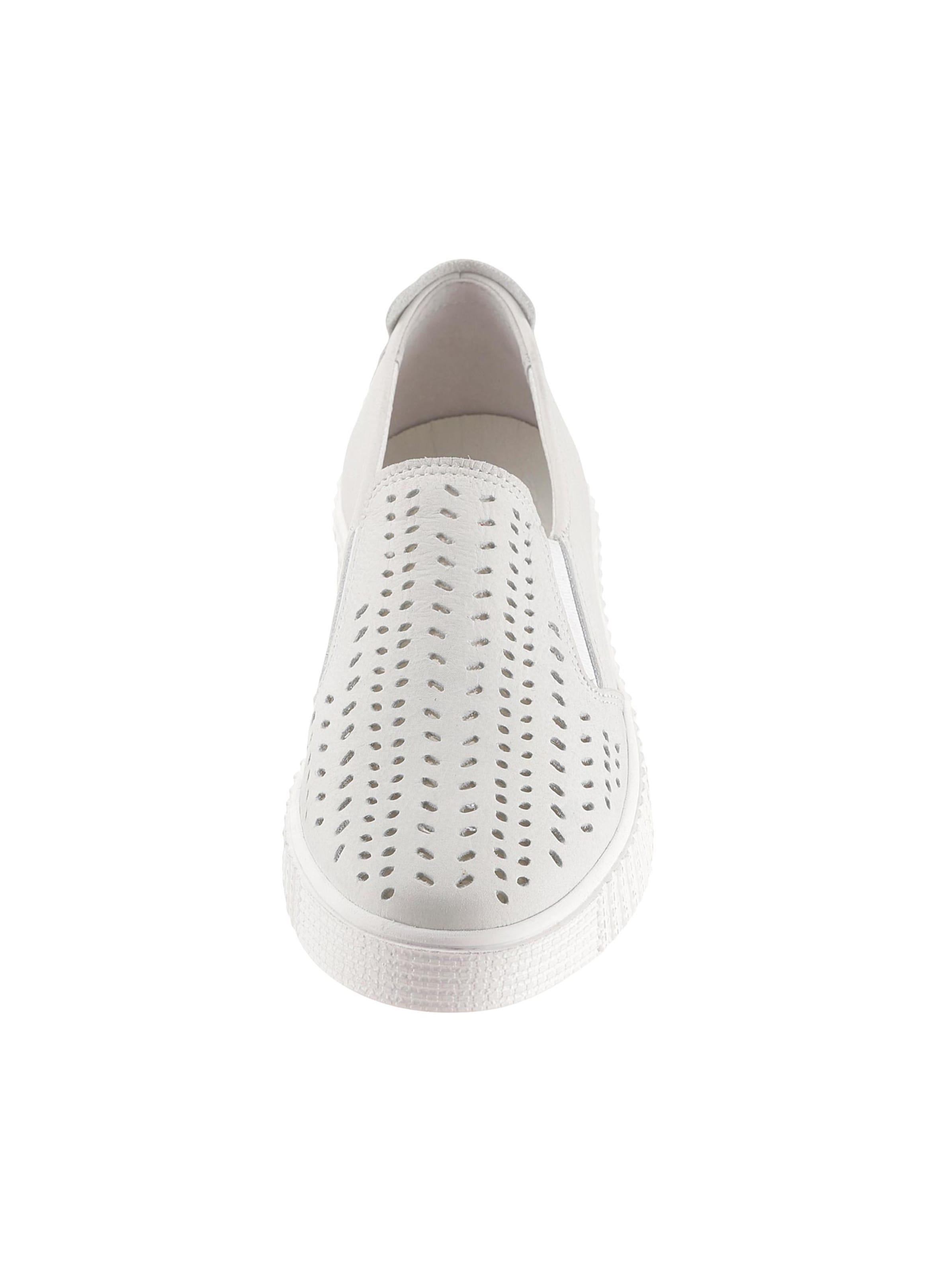 rd-soft - Damen Slipper weiß