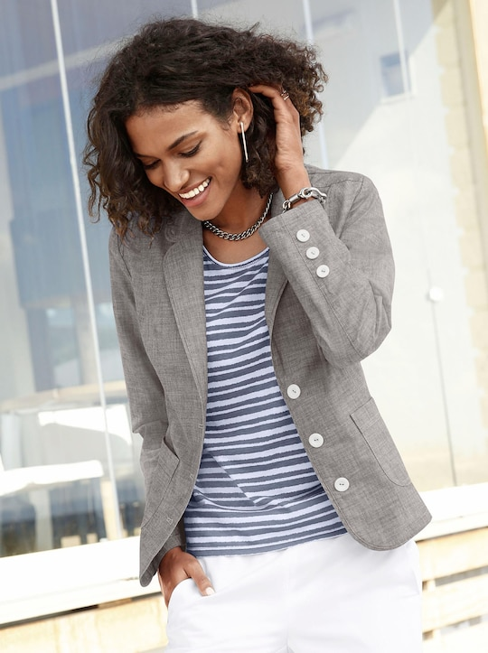 Collection L Blazer - taupe