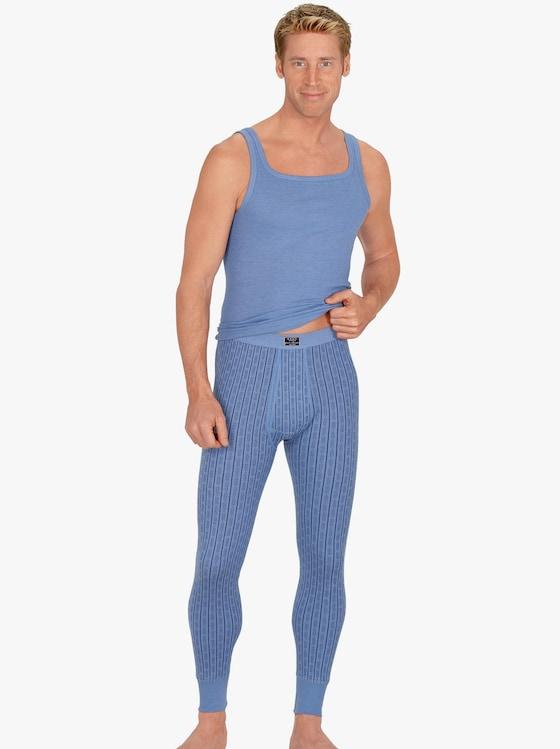 ESGE Unterhemd - hellblau-geringelt