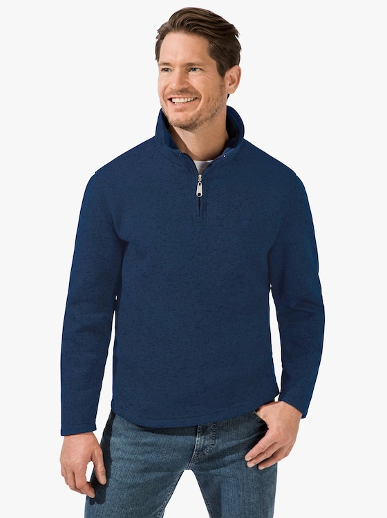 Catamaran Fleece-Shirt - blau