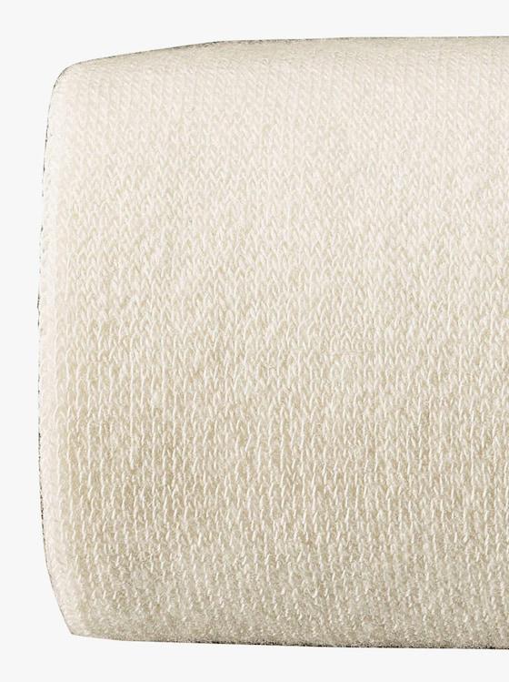 Rogo Zateplené pančuchové nohavice - vlnená biela