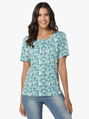 Shirt - mint-bedruckt