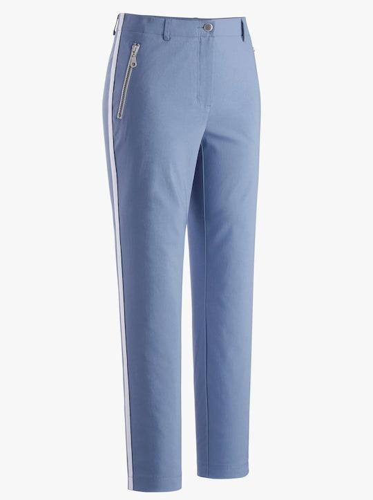 Collection L 7/8-Hose - jeansblau