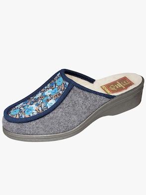 Pantoffel - grau