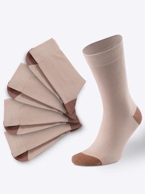 wäschepur Socken - beige