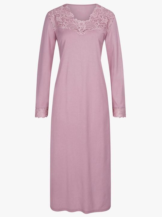 wäschepur Nachthemd - rosé