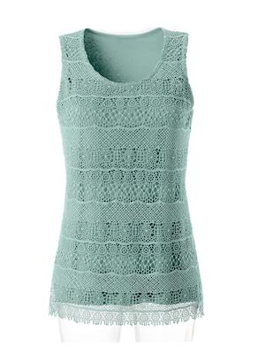 Shirttop - groen