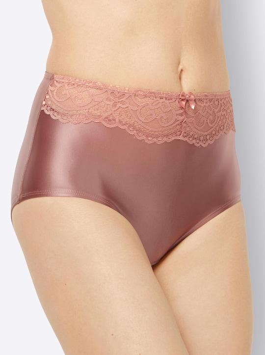 wäschepur Taillenslip - rosenholz