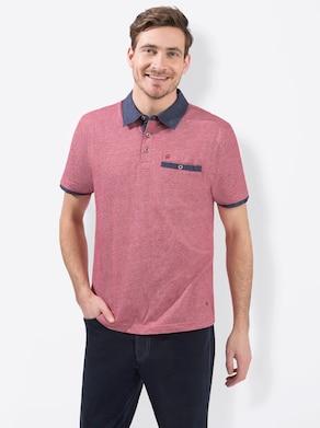 Marco Donati Kurzarm-Shirt - rot